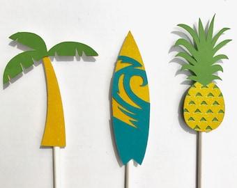 Summer Fun Cupcake Toppers