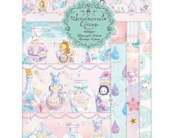 New 2017 Sentimental Circus Letter Set - Shappo - Spica Theme - Writting Paper SET