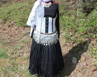 Size 2X Gypsy, Pirate, Renaissance Costume