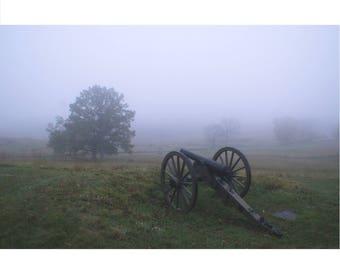 Framed Gettysburg PA print