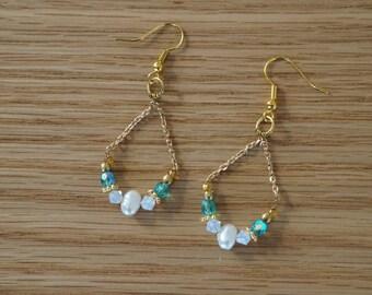 Handmade PEARL earings