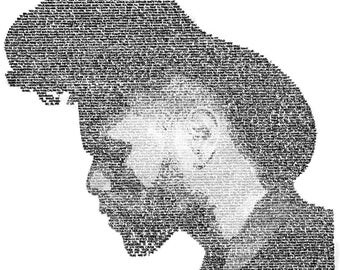 The Weeknd Lyric Drawing