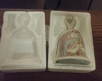 Vintage Homco Nativity Bell ~ NIB ~ Mint