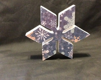 Snowflake, snow, winter deocrations, handmade decorations,