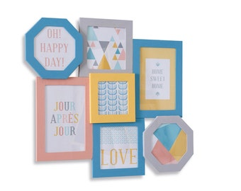 10 cards Decor Scandinavian - Scandinavian Style - Home decoration cards cards - Scrapbooking