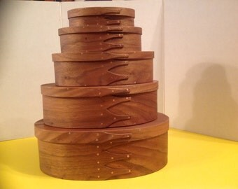 Hand made Walnut Shaker Boxes