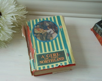 A Girl of the Northland by Bessie Marchant. Hardback cloth bound vintage book with dust jacket.