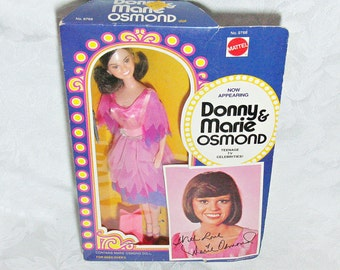 Vintage Marie Osmond Doll In Original Box - Made by Mattel in 1976