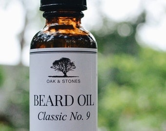 OAK & STONES Beard Oil