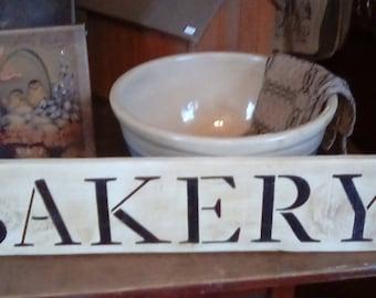 BAKERY sign / Farmhouse Sign / Farmhouse Decor/ Home Decor / Wood Sign / Farm Fresh / Kitchen Decor