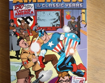 1998 CAPTAIN AMERICA The Classic Years - Jack Kirby – Marvel Comics