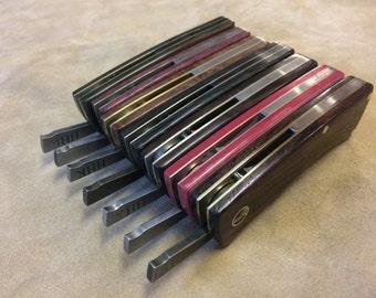 Hand made Friction folder pocket knife