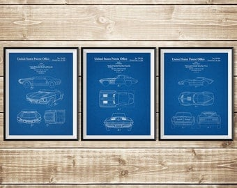 Chevrolet Decor, Patent Print Group, Sports Car Poster, Corvette Decor, Sports Car Patent, Corvette Art, Corvette Patent, INSTANT DOWNLOAD