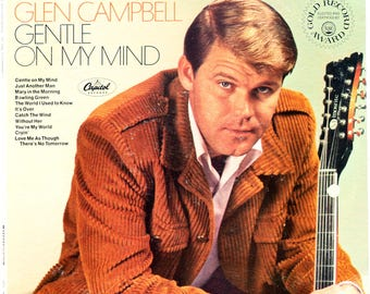 Glen Campbell - Gentle On My Mind - 1967 - ST 2809 - Vinyl - Capitol Records