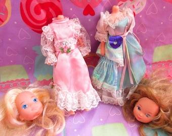 Lady Lovely Locks Maiden Fairhair Dolls BROKEN - For parts