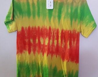 Tie Dye Shirt, Short Sleeve, Small (101-763)