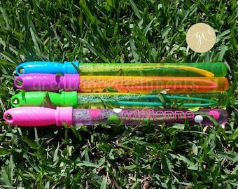 Personalized Bubble Wand, Custom Bubble Wands, Kids Party Favors, Wedding Favors, Personalized Bubbles,