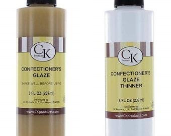 CK Products Confectioner's Glaze  & Confectioner's Glaze Thinner Combo Set