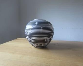 Schloßberg - ceramic mid century modern 50s vase
