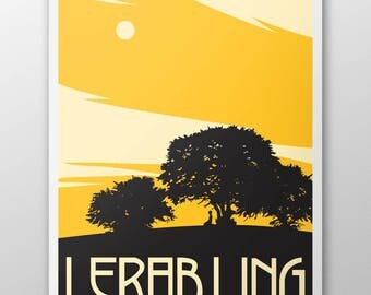 Lerab Ling Hilltop Poster