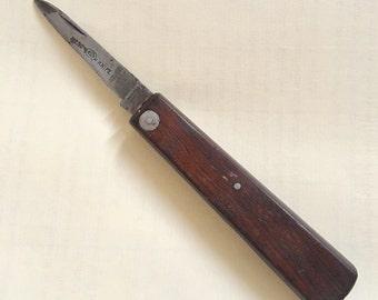 Superb Victorian wooden folding knife Southern & Richardson Ltd Nest knife  one blade   Rare  pls read details