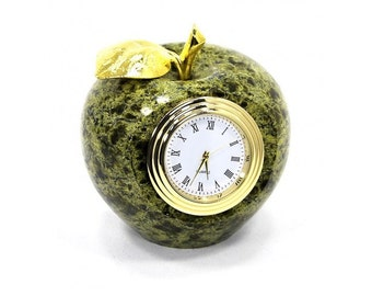 """Watch """"Apple"""" products made of natural stone Decoration for interior  exclusive gift"""