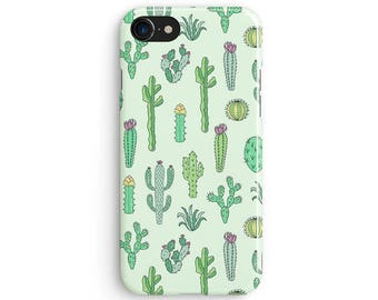 Cactus drawing - iPhone 7 case, Samsung Galaxy S7 case, iPhone 6, iPhone 7 plus, iPhone SE, iPhone 5S, 1C065A