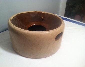 Stoneware Primitive Spittoon