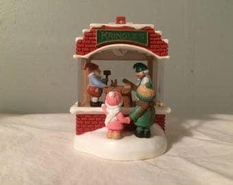 "Vintage Hallmark ""Magic"" Ornament - 1987 ""Kringles Toy Shop"""