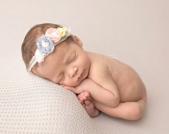 Shasha / Newborn Heaband / Newborn Headband Prop