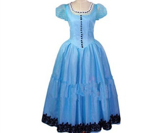 Alice in Wonderland Cosplay Costumes Alice Cosplay Dress