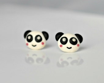 Panda's earrings