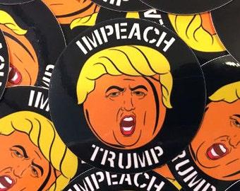 Impeach Trump sticker- Anti Trump