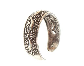 Sterling Silver Swimming Dolphin Toe Rings
