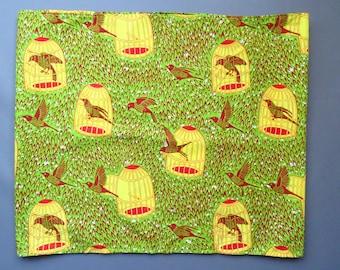 Large Ghana 'Tu Sors' Infinity Loop SCARF Wax Fabric