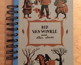 Handmade Rip Van Winkle blank sketchbook / journal / notebook