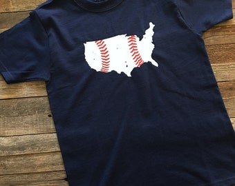 USA Baseball Shirt-Youth-Kids - FREE SHIPPING On All Orders