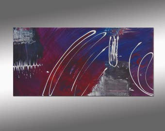 SC-Art - abstract & modern / Acrylic Painting / 16x31""