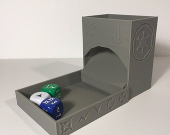 Imperial Assault Theme Dice Tower