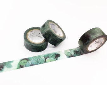 Green Lotus Leaves Washi Tape - Season's Color Series