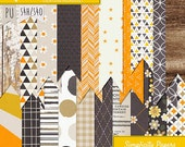 Simplicity Patterned papers