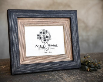 Picture frame, wood photo frame handmade frame, rustic picture frame, CHOOSE YOUR SIZE of 4x4 4x6 5x5 5x7 6x6 6x8 8x8 8x10 8x12 8.5x11 11x14