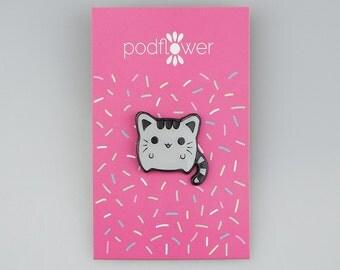 Kawaii Cat Enamel Pin