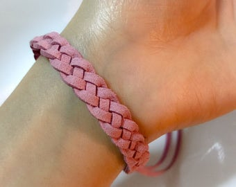 double sided mosquito repellent bracelet kids & adults - all natural essential oils, DEET free (w/ mosquito / bug repellent spray optional)