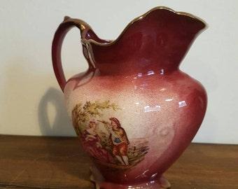 Beautiful vintage pink vase