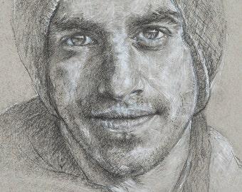 Limited Edition Print, 'Portrait #4'