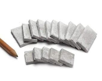 1:12 Mini Cinder Block Caps - 15 Pack