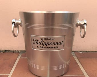 Vintage French Champagne Ice Bucket Cooler Made in France Philipponat 18041722