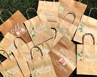 LARGE Bridesmaid bags
