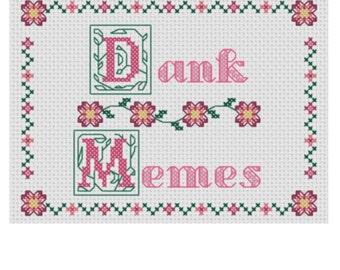 Dank Memes (Cross Stitch Pattern)